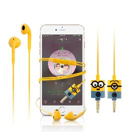 Minions Figure Earphone