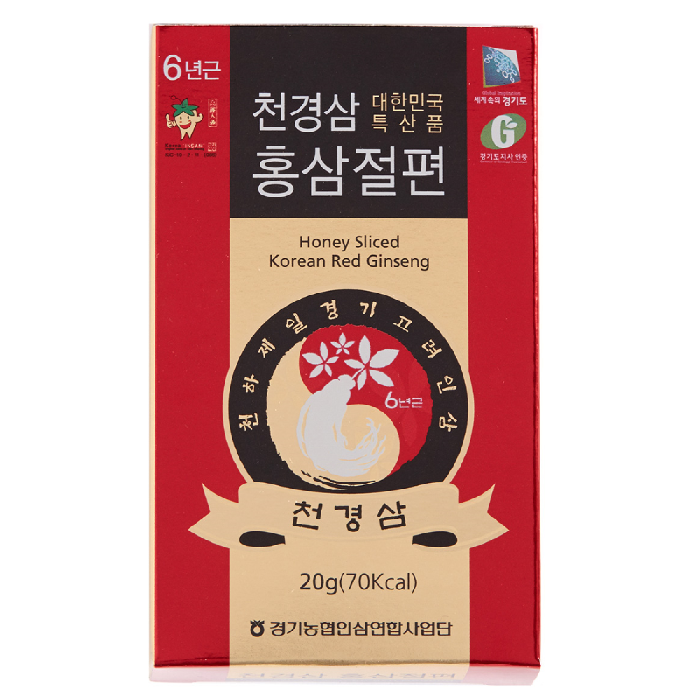 Honey Sliced Korean Red Ginseng(20g*5ea)