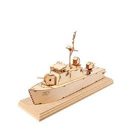 DESKTOP Wooden Assembly Model Kits. (Sea Eagle High-Speed Boat)