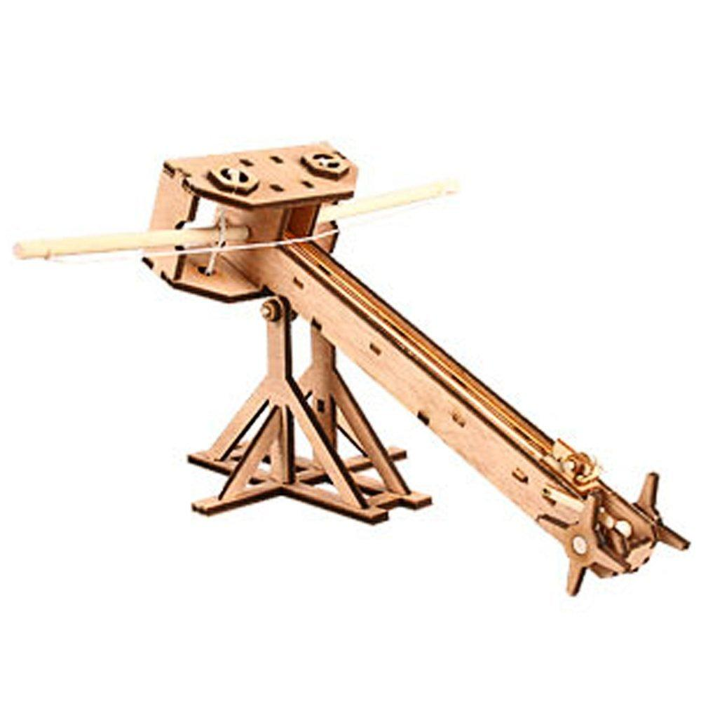 Wooden Model Kit Ballista by Young Modeler
