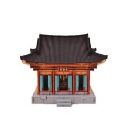 DESKTOP Wooden Assembly Model Kits. (Daeungjeon Temple)
