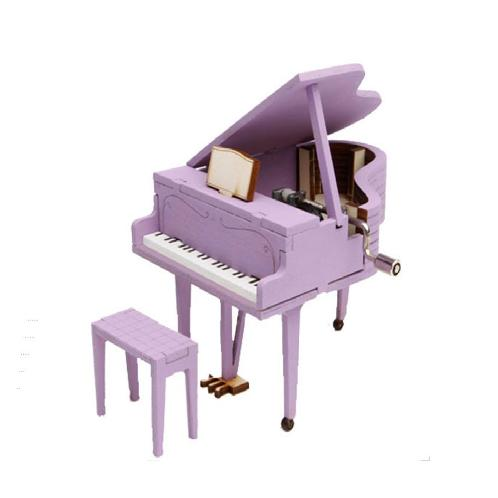 DESKTOP Wooden Assembly Model Kits. (Orgel Grand Piano) | Wooden, Kit,Piano