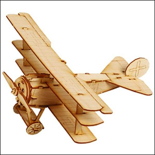 Wooden Model Kit Fokker Drl | Wooden,Kit,Fokker