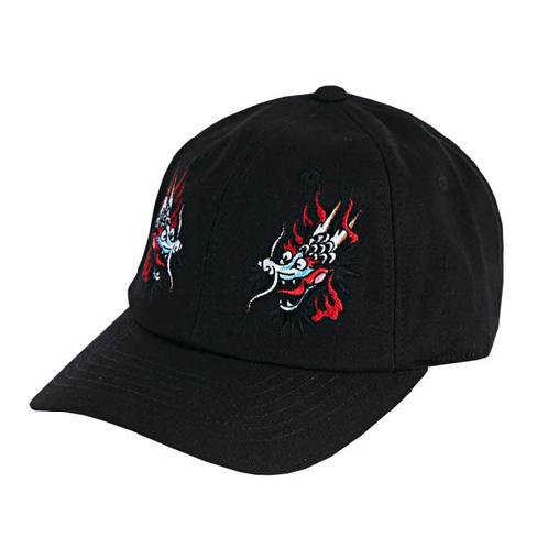 Dragon ballcap black | ball cap, dragon, embroidery