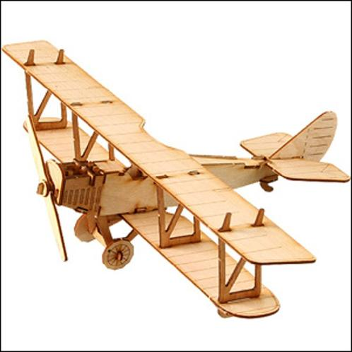 Wooden Model Kit Curtiss JN4D | Wooden, Kit, Curtiss