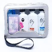 Shampoo, Hair Conditioner, Body Cleanser, Soap, Toothbrush, Toothpaste, Razor # Premium