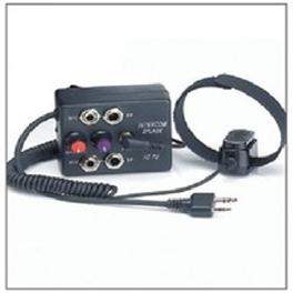 2 Place Aviation Intercom for ICOM with external PTT