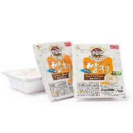 Korea DINOSAUR GOURMET Instant Food Rice Noodles Not Fried 4.4 lbs Anchovy Flavor