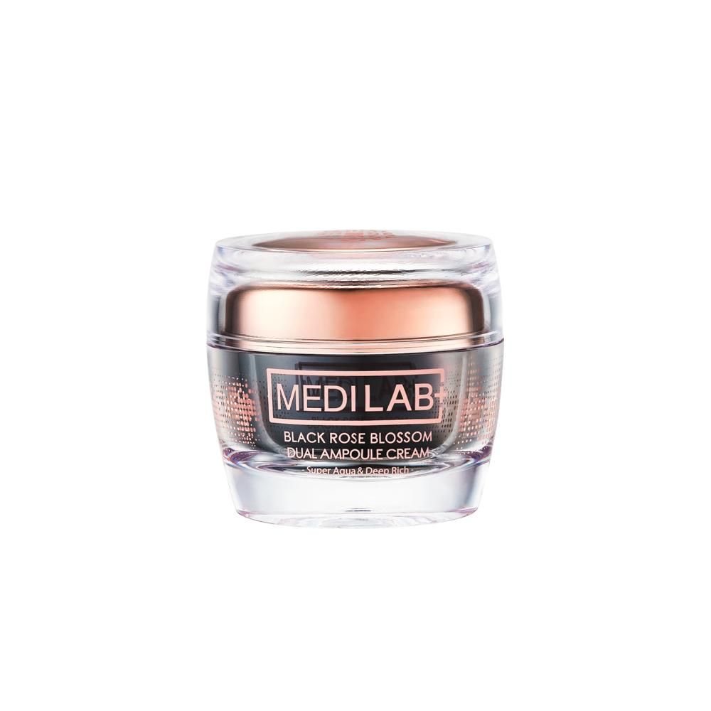 [MEDI LAB] BLACK ROSE BLOSSOM DUAL AMPOULE CREAM