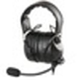 Light weight Aviation Headset for Pilot, Flight Headgear(Noise Cancelation, Fold-up type)