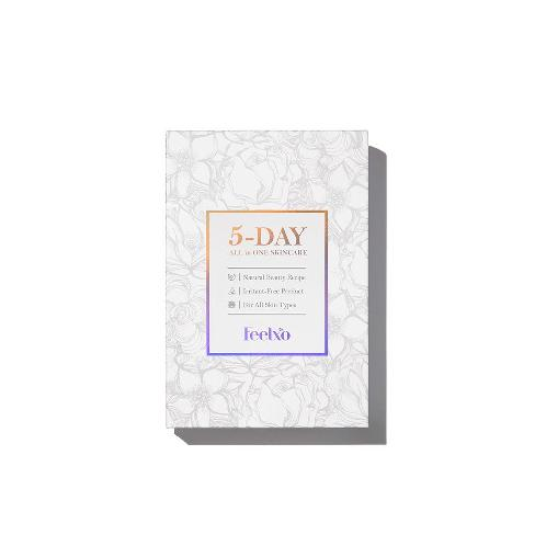 Facial Mask Sheets [FEELXO] 5DAY ALL in ONE Skincare Program, 5 Sheets Per Set, Moisturizing, Vital- | feelxo skincare cosmetics koreanbeauty masksheet facial moisturizing antiaging