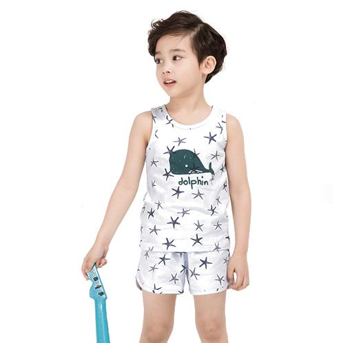 Dolphin BL Sleeveless Set | Children, comfortable, cute