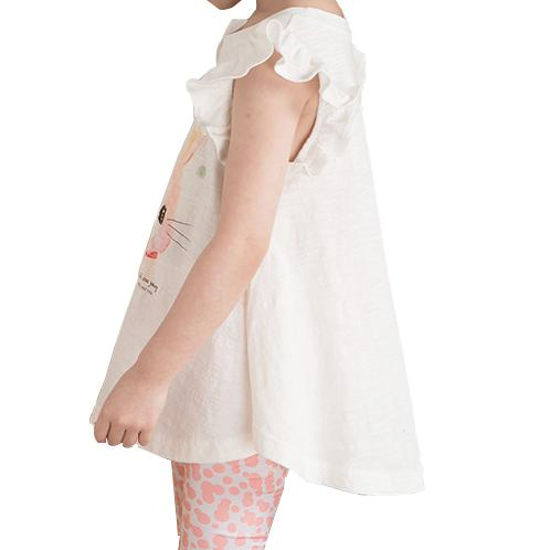 Barney Elle sleeveless rayon set | Children, comfortable, cute,good air permeability,cotton