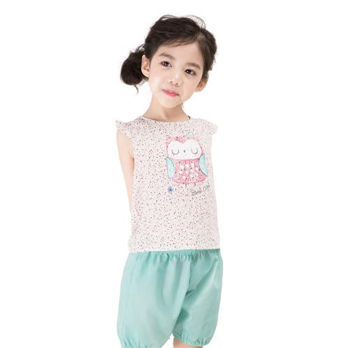 Swin Hush sleeveless rayon set | Children, comfortable, cute,good air permeability,cotton
