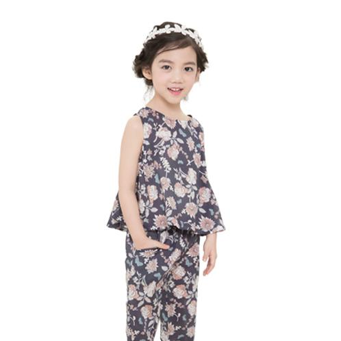 Illang Sleeveless Skirt Pants Set | Children, comfortable, cute