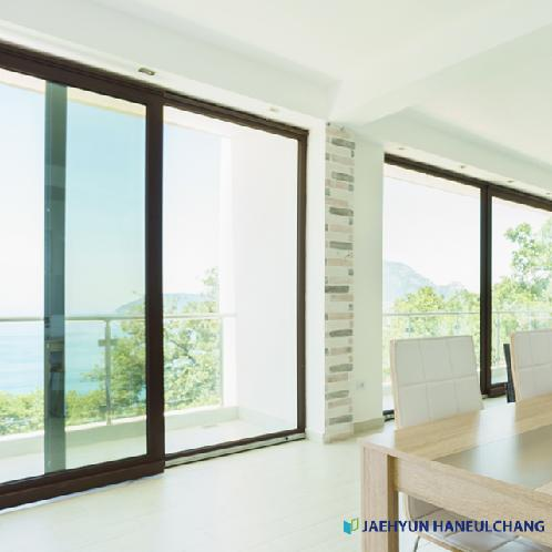 Expandable 4-Track Balcony Windows Sash Profile (JAEHYUN INTEX : JBF-256RB) | Expandable 4-Track Balcony Windows Sash Profile (JAEHYUN INTEX : JBF-256RB)