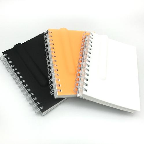 DESIGNERSO2 Pen House | A4 Unique Design Children Adult Orange Black White Drawing Blank Silicon Idea Book Pen Slot Holder
