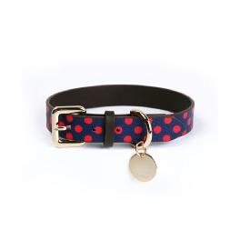 DOGLE Advanced  Handmade Dog Fashion Collar 15 types (with name tag) made in Korea