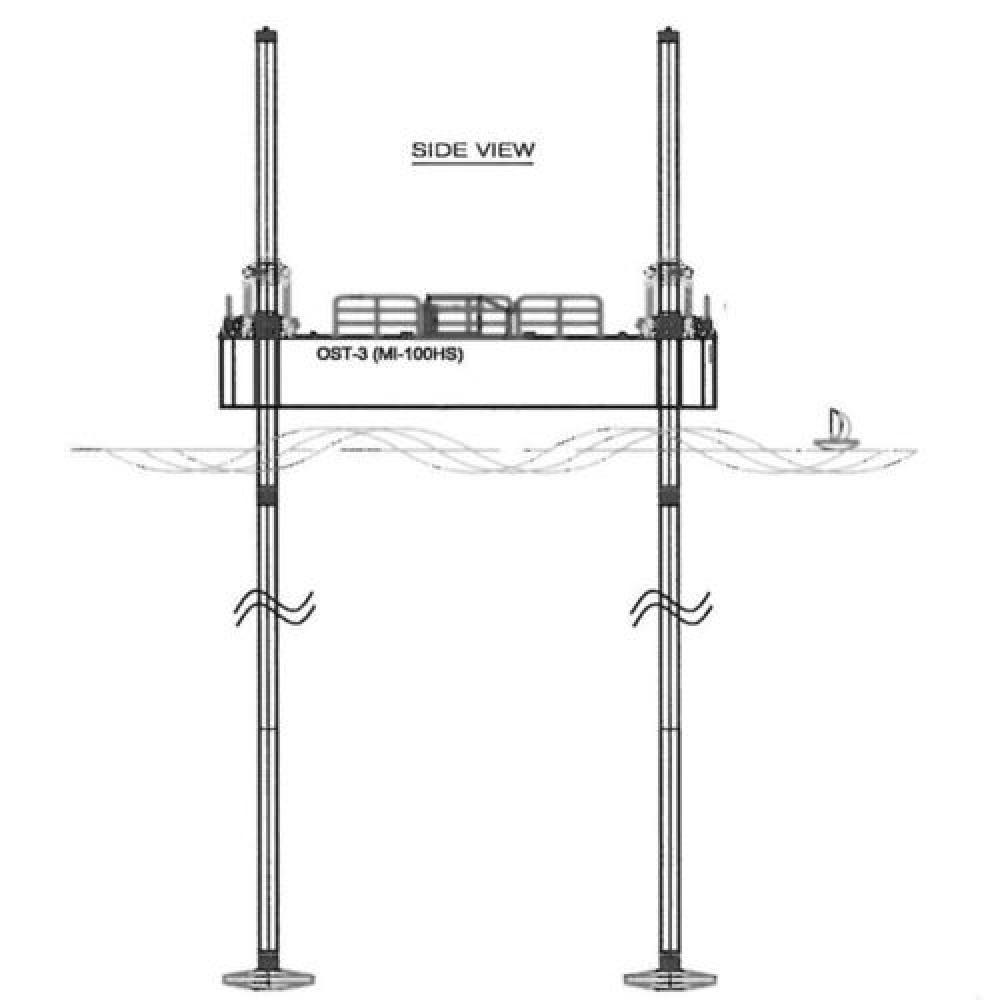 Made in Korea ABS barge_ MI-250T jack up barge | Steel