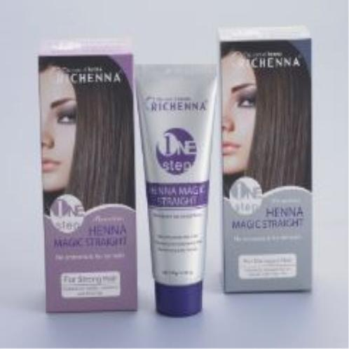 Richenna Premium One Step Magic Straight Cream | straight hair cream