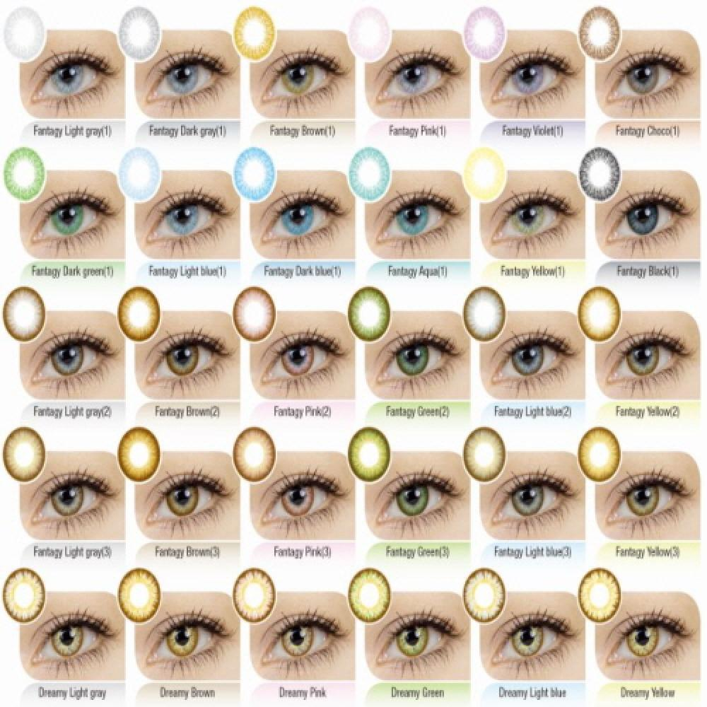Korea Circle Color Contact Lens (Dream Color Contact Lens, Lenses)