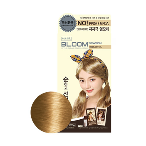 Bloom Season Style Cacao Color Cream High Light HL | beauty, hair cream, style color, bloom season