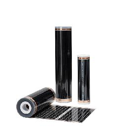 OEM heating film mat far infrared ray radiant electric underfloor transparent color ptc carbon heati
