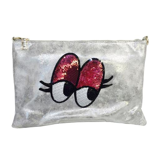 Spangle Eye Clutch | Bag,fashion,individuality
