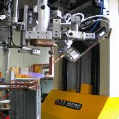 Copper header robot brazing machine