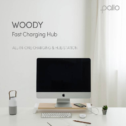 woody fast charging hub | home,decoration,accessaries