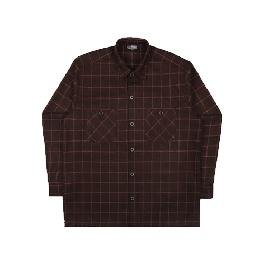 [FILLUMINATE]UNISEX Lattice Check Shirt Jacket