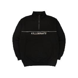 [FILLUMINATE]UNISEX Line Point Half Zip Up
