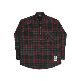 [FILLUMINATE]UNISEX Overfit Sensual Check Shirt