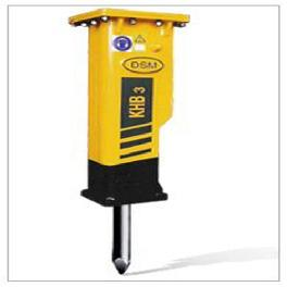 KHB3 (Silent Type), Hydraulic Breakers