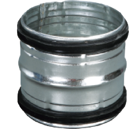 [Spiral Duct] Pipe and Fitting Parts CPT, ETFE Type Flange, Welding, Damper, Reducer, screw conveyor