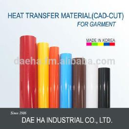 Heat transfer for Garment