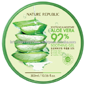 Nature Republic SOOTHING & MOISTURE ALOE VERA 92% SOOTHING GEL 12pcs