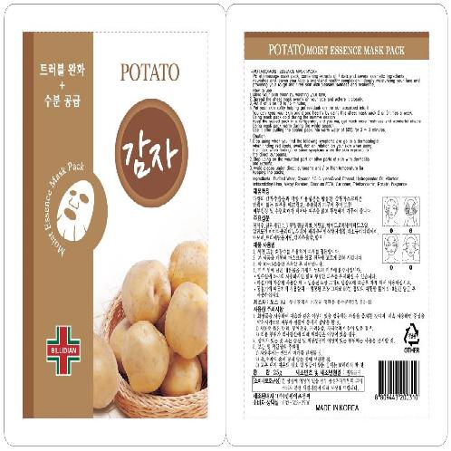 KOREA ATTICELL POTATO MOIST ESSENCE MASK PACK | KOREA ATTICELL POTATO MOIST ESSENCE MASK PACK