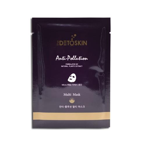 The DETOSKIN Anti-Pollution Mask(Multi) | DETOSKIN, Anti-Pollution, Mask, Beauty, Cosmetic