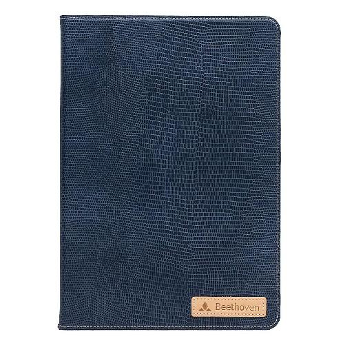 Beethoven Samsung Galaxy Tab A6 10.1 Case with S-Pen (Leather Navy) | tab case