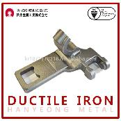 Mounting bracket for auto truck parts (OEM ductile iron casting)