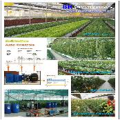 Greenhouses for intensive production