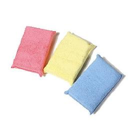 Polyx2- PX2-APP3 - Premium Microfiber Covered - Car Buff,Coating, Wax Applicator , 3 pcs in One Set,