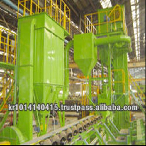 Pipe inside / outside descaling equipment | Pipe inside / outside descaling equipment
