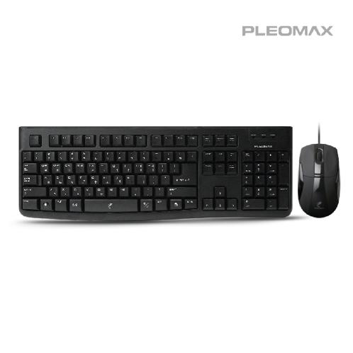 PLEOMAX PKC-650 Wired Standard Combo (English – Korean) | Wired keyboard