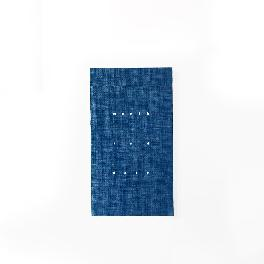 Note Pocket Diary, Monthly Planner (navy)