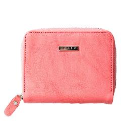 Leather Wallet (Peach)
