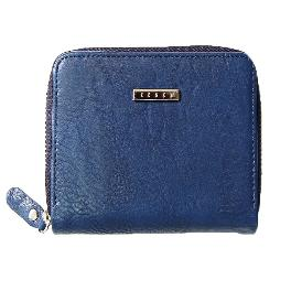 Leather Wallet (Midnight Blue)