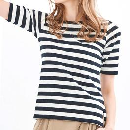 Half Stripe(M) T-Shirts