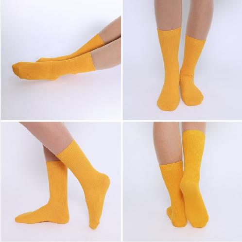 middle rib banding socks | socks, woman socks, daily socks